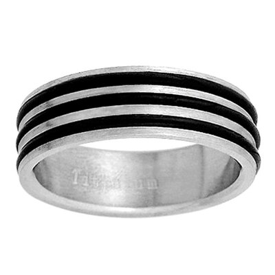 Trendbox Jewelry Extra Wide Double Band Ring