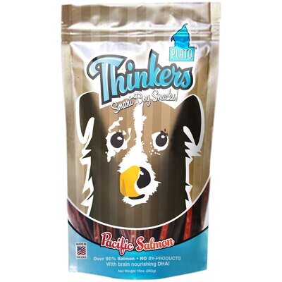 Plato Pet Products Thinkers Salmon Sticks Dog Treats