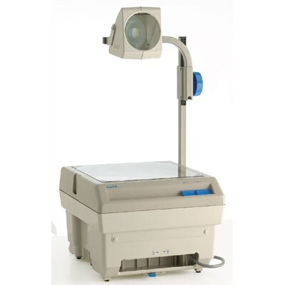 Buhl Closed Head Single Lens 2200 Lumens Overhead Projector with Optional Lamp Changer