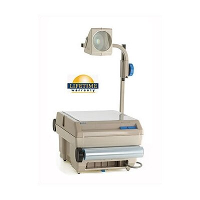 Buhl Closed Head Single Lens Overhead Projector (2200 lumens) with Optional Lamp Changer