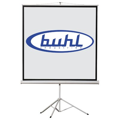 "Buhl 50"" x 50"" Projector Screen - 1:1 Format"