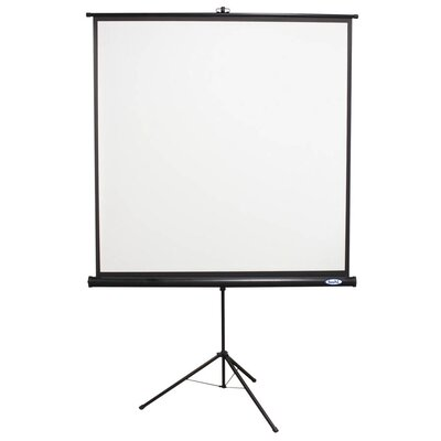 "Buhl 70"" x 70"" Projector Screen with Black Housing - 1:1 Format"