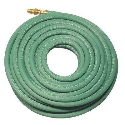 Anchor Single Line Welding Hoses - r 1/4x1 green single line bulk hose 750'