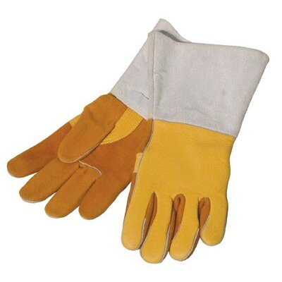 Anchor Gold Deerskin Premium Welding Gloves (Box of 12 Pairs) - 950gc gold deerskin glove