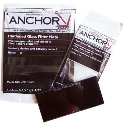 Anchor Filter Plates - 2x4-1/4 #9 glassfilter plate