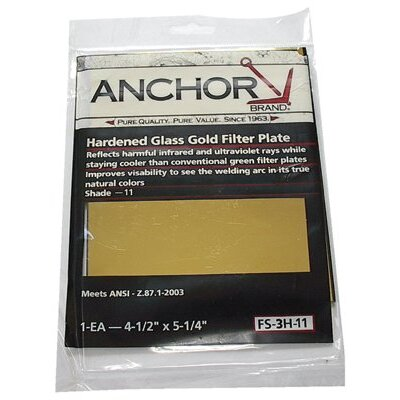 Anchor Gold Filter Plates - fs-3h-11 4 1/2 x5 1/4 gold filet plate