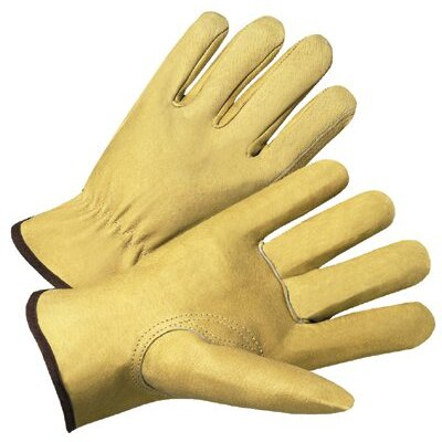 Anchor 4000 Series Pigskin Leather Driver Gloves - 7007s premium pigskin drivers glove