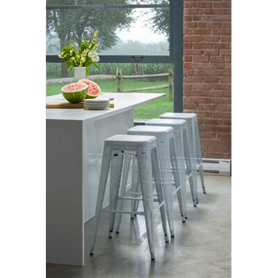 Metallica Perforated Bar Stool (Set of 4)