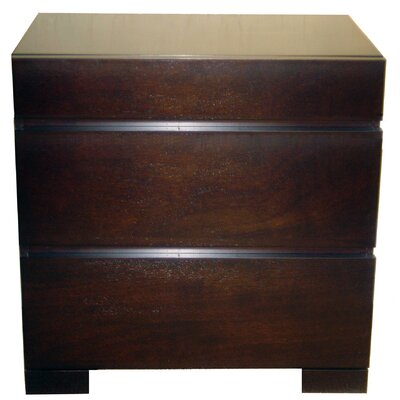 Madrid 3 Drawer Nightstand