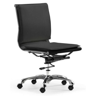 dCOR design Lider Plus Low Back Armless Office Chair