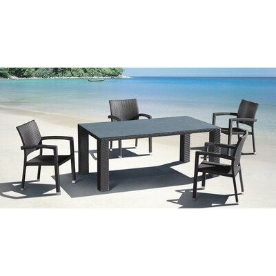dCOR design Boracay Outdoor Dining Arm Chair
