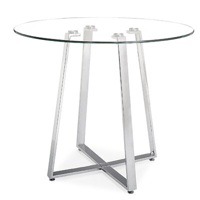 dCOR design Lemon Drop Counter Height Pub Table