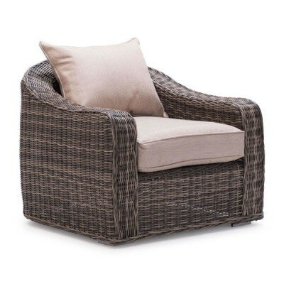 dCOR design Praia Deep Seating Chair with Cushions