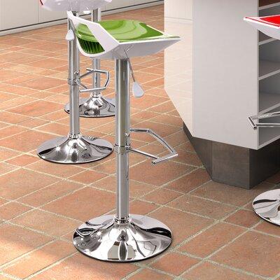 """dCOR design Excelsior 25.6"""" Adjustable Bar Stool"""