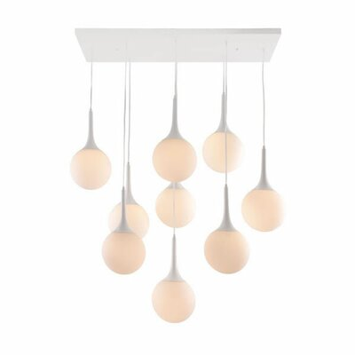 dCOR design Epsilon 9 Light Ceiling Lamp
