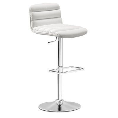 dCOR design Itro Barstool in White