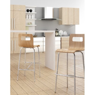 dCOR design Scape Barstool in Natural