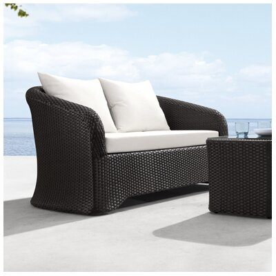 dCOR design Miramar Loveseat with Cushions