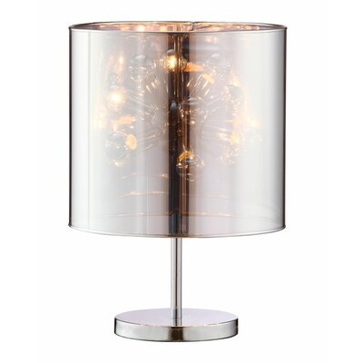 "dCOR design Supernova 21.7"" H Table Lamp with Drum Shade"