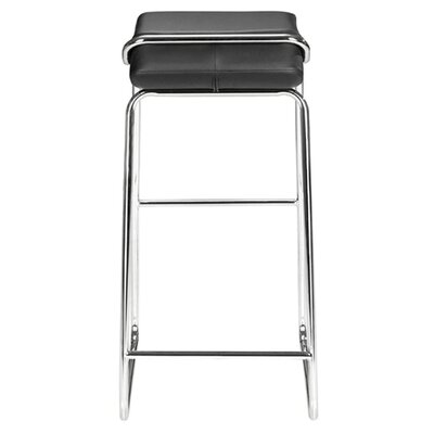 dCOR design Edge Barstool in Black