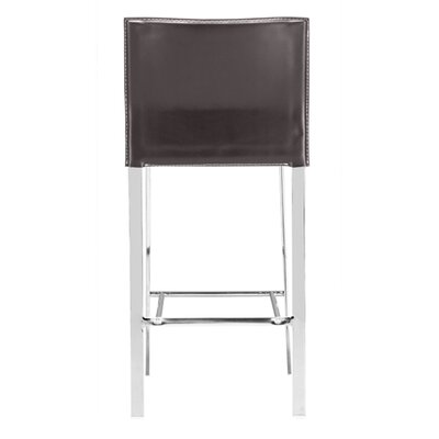 dCOR design Oxter Counter Stool in Espresso