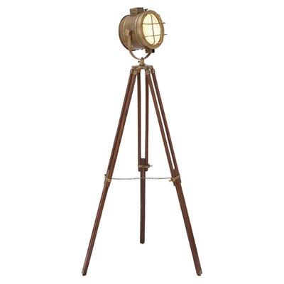 Woodland imports studio floor lamp reviews wayfair for Wayfair wood floor lamp