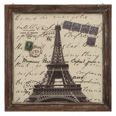 Paris Eiffel Tower Wall Art