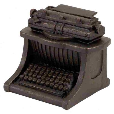 Woodland Imports Polystone Typewriter Decor Figurine
