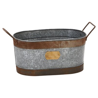 Woodland Imports Party Metal Ice Bucket