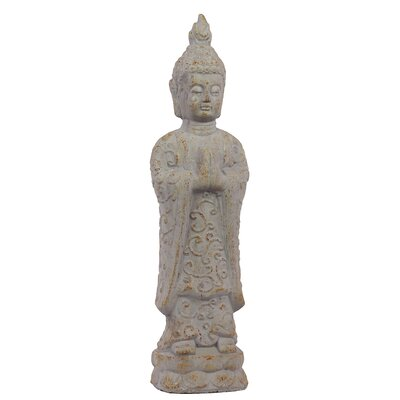 Antique and Innovative Cement Standing Buddha Statue