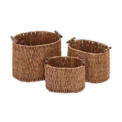 Rattan Baskets (Set of 3)