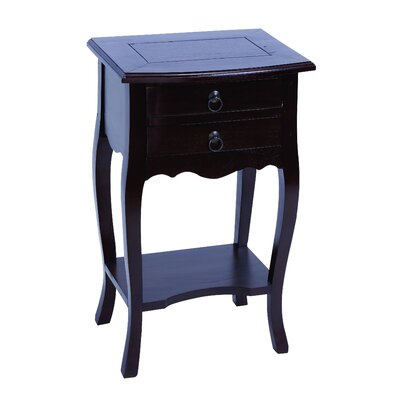 Woodland Imports Functional Design End Table