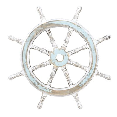 Wood Ship Wheel Decor