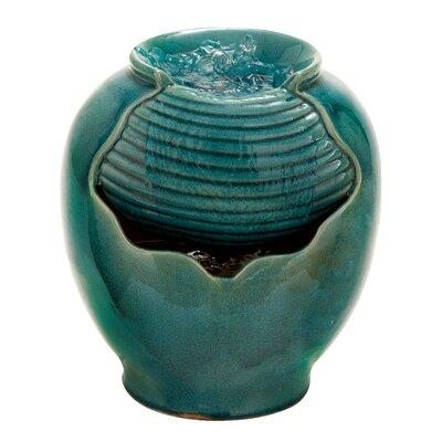 Woodland Imports Ceramic Water Fountain Amp Reviews Wayfair