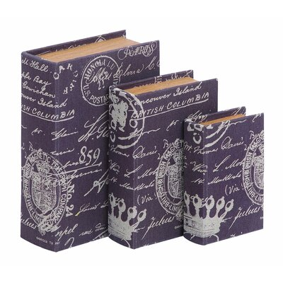 Paris Lifestyle Theme Book Box (Set of 3)