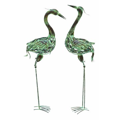 Woodland Imports Bird Statue Set
