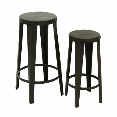 Woodland Imports 2 Piece Bar Stool Set