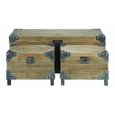 Woodland Imports Woodland Importants 3 Piece Trunk