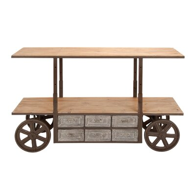 Woodland Imports Reclaim Kitchen Cart