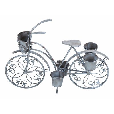 Woodland Imports Bicycle Planter