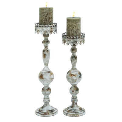 Woodland Imports Milan Victorian Candle Holder
