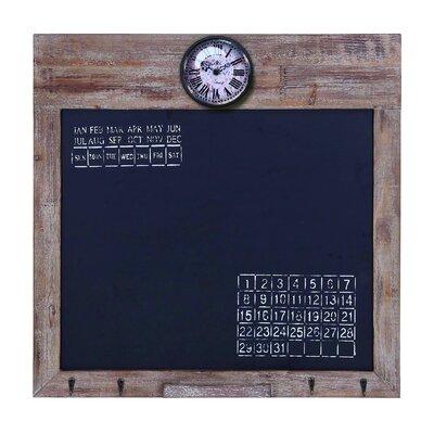 "Woodland Imports Lisa Square 2' 3"" x 2' 3"" Chalkboard"