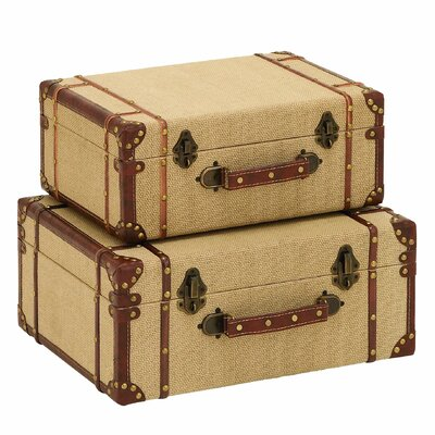 Travel Suitcase 2 Piece Set