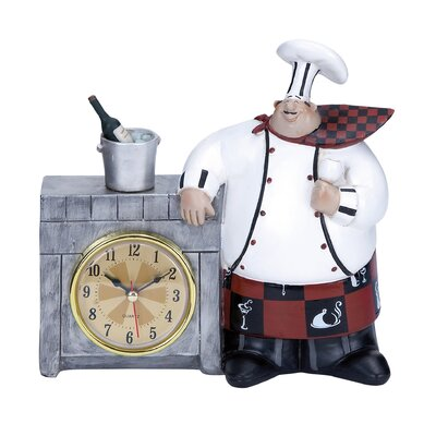 Chef Table Clock