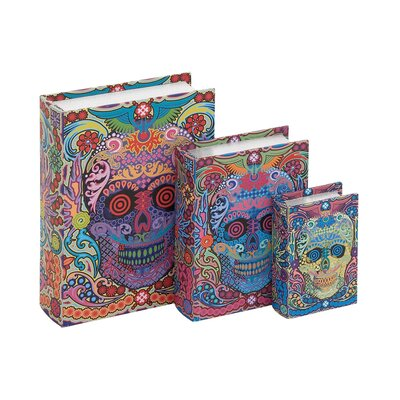 Canvas Book Box (Set of 3)
