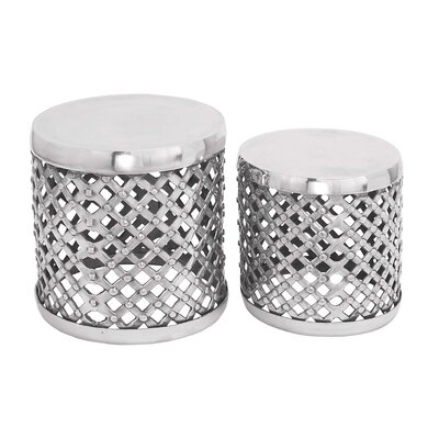 Aluminum Stool (Set of 2)