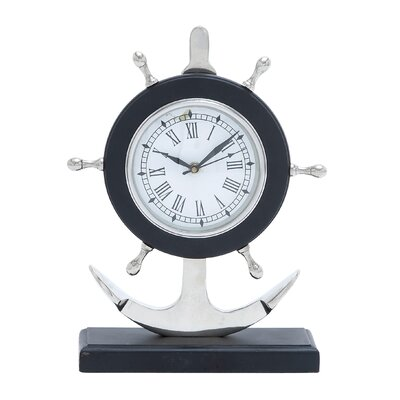 Metal Anchor Clock