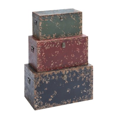 Woodland Imports Trunk (Set of 3)