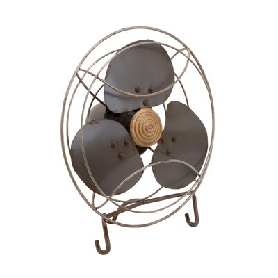 Woodland Imports Fan Decor Statue