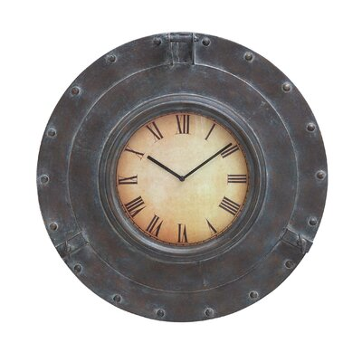 Designed Metal Wall Clock